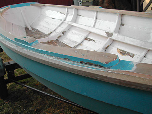 Thornes Chamberlain Dory Skiff The Restoration