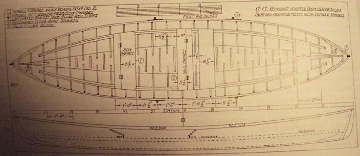 MBOAT: PDF Herreshoff rowboat plans