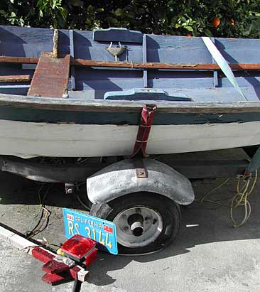 STUG - ply dory on SF Craigslist