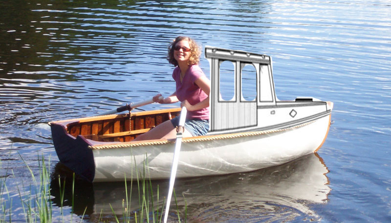 Lobster boat look-a-like dinghy?